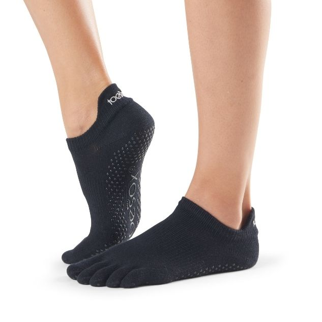 Toesox Low Rise Black Small