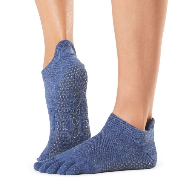Toesox Low Rise Navy Small