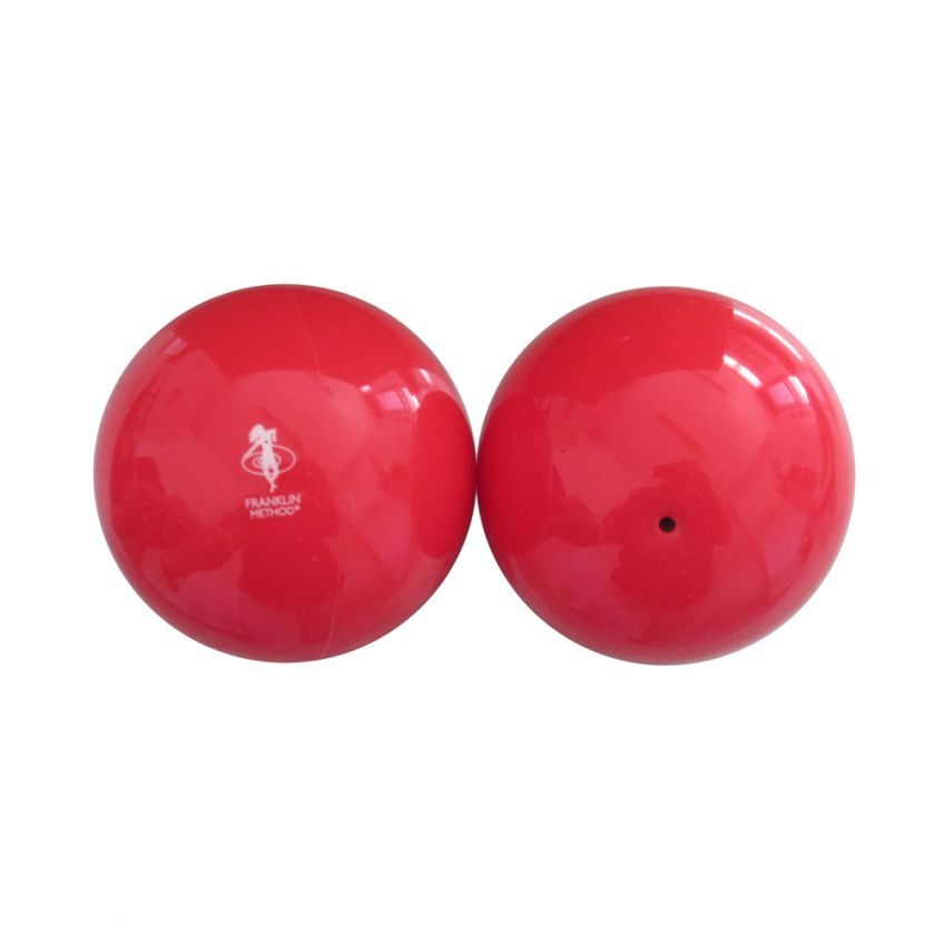 Pair of Red Franklin Balls