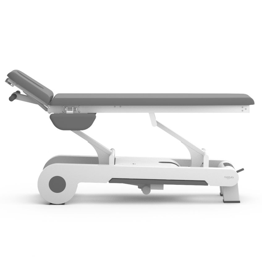 2 section osteopathy table with optional arm rests by Naggura